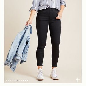 PILCRO AND THE LETTERPRESS HIGH RISE SKINNY SIZE27